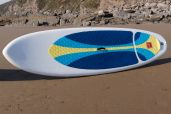Red Nine Four Sup Board with Alloy Fixed Paddle